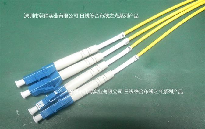 预端接光纤缆 C12-T-MF(10G+)EM-10 MPO-M / LC